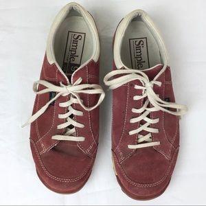 Simple Shoes - Simple Vintage Retro Laceup Sneaker